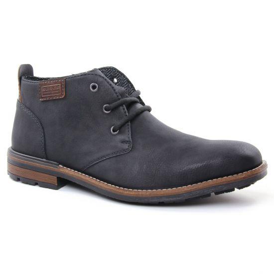 Chaussures Montantes Rieker B1340 Noir, vue principale de la chaussure homme