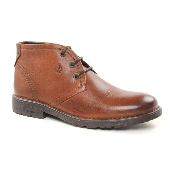 Chaussures Montantes Fluchos 7761 Cuero, vue principale de la chaussure homme