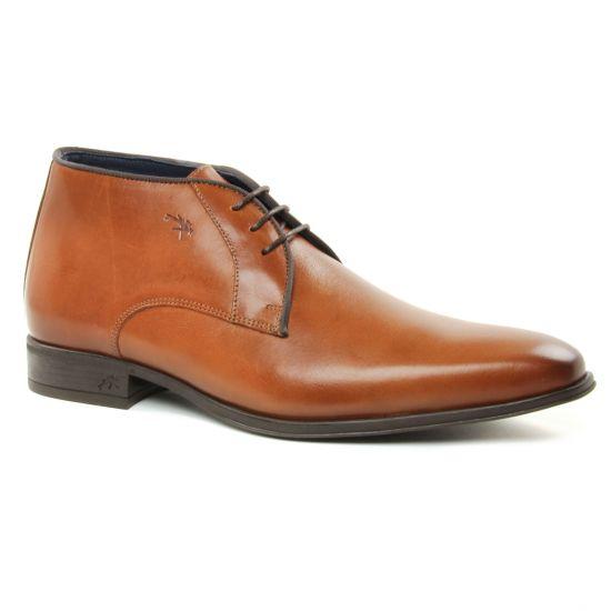Chaussures Montantes Fluchos 9962 Cuero, vue principale de la chaussure homme