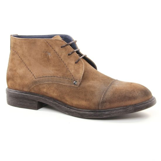 Chaussures Montantes Fluchos F0331 Castano, vue principale de la chaussure homme