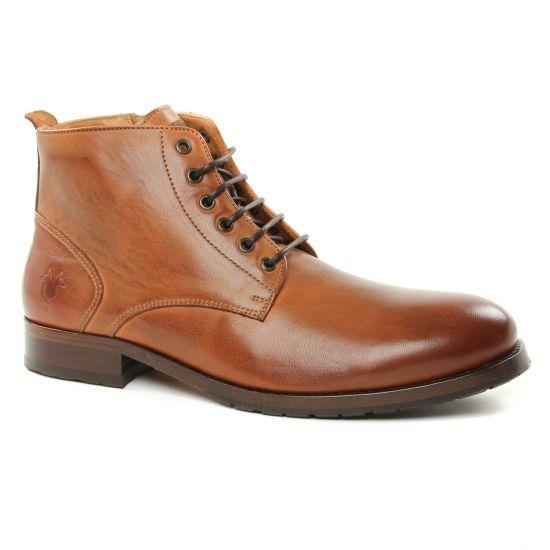 Chaussures Montantes Kost Violent6 Cognac, vue principale de la chaussure homme