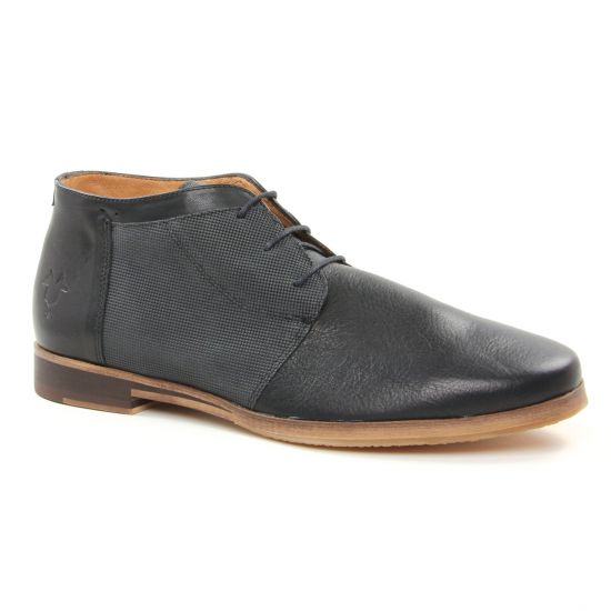Chaussures Montantes Kost Albe 54 V2 Noir Antracite, vue principale de la chaussure homme