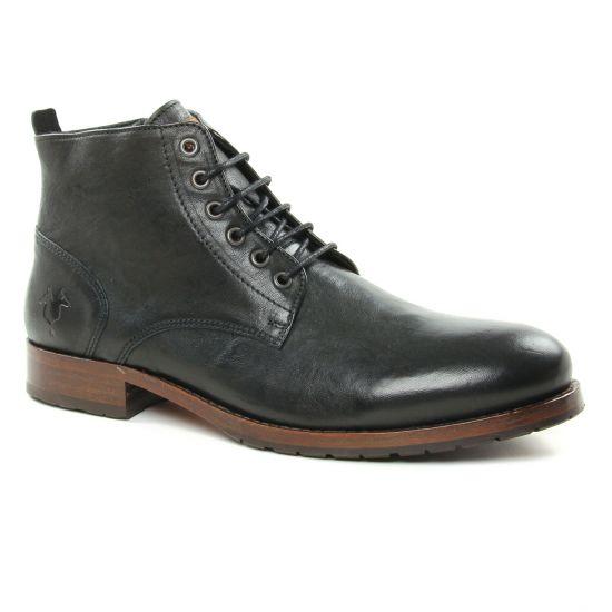 Chaussures Montantes Kost Violent6 Noir, vue principale de la chaussure homme
