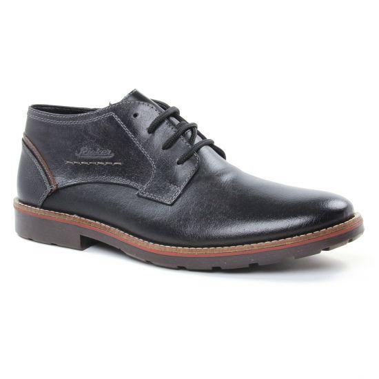 Chaussures Montantes Rieker 15343 Schwarz, vue principale de la chaussure homme