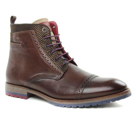 Chaussures Montantes Fluchos F0277 Castano, vue principale de la chaussure homme