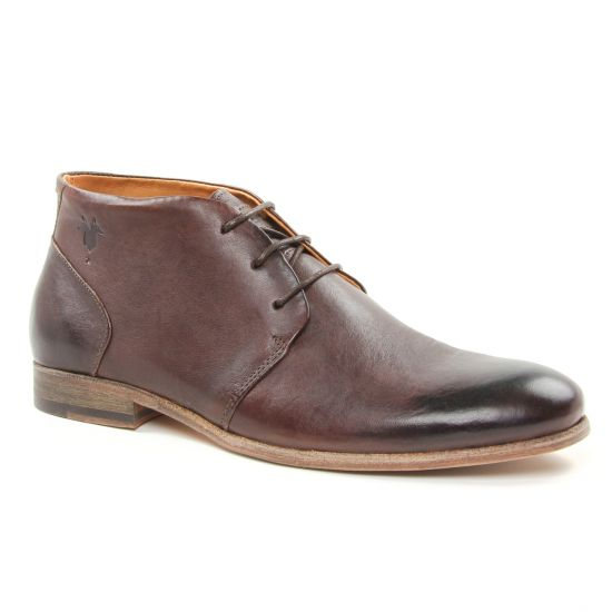 Chaussures Montantes Kost Sarre1 Chataigne, vue principale de la chaussure homme
