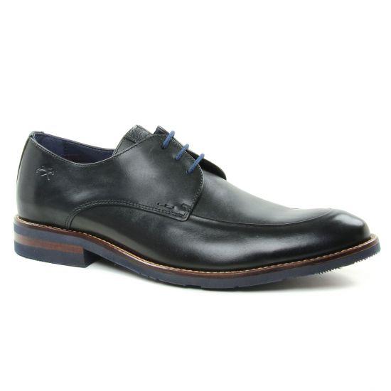Chaussures Basses À Lacets Fluchos F0261 Marino, vue principale de la chaussure homme