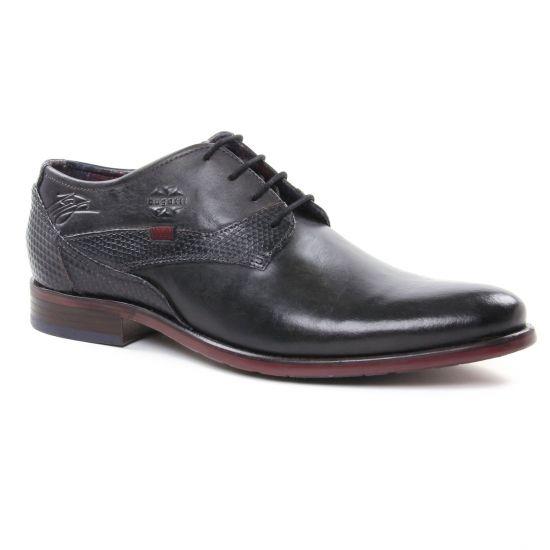 Chaussures Basses À Lacets Bugatti 16304 Dark Grey, vue principale de la chaussure homme