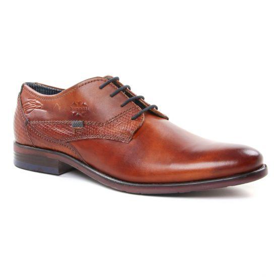 Chaussures Basses À Lacets Bugatti 16304 Cognac, vue principale de la chaussure homme