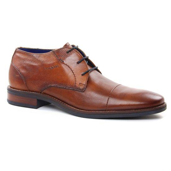 Chaussures Basses À Lacets Bugatti 58401 Cognac, vue principale de la chaussure homme