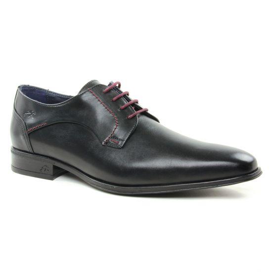 Chaussures Basses À Lacets Fluchos 9958 Negro, vue principale de la chaussure homme