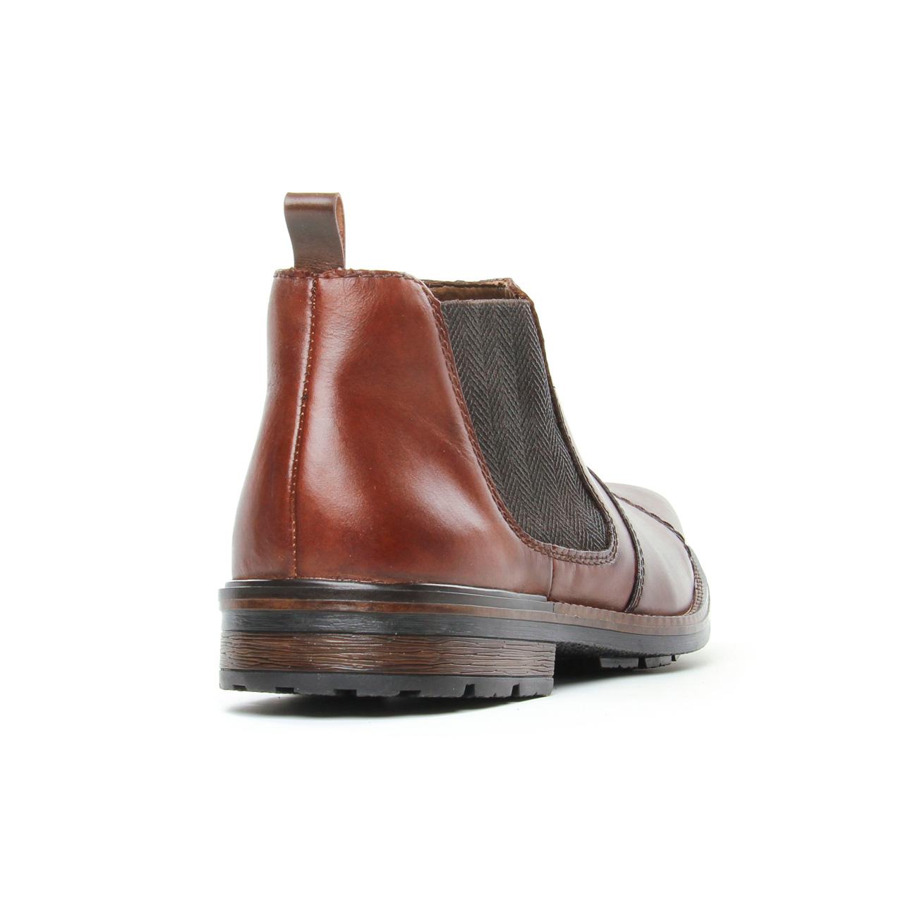 Rieker F1380 26 Nut | boots marron automne hiver chez TROIS