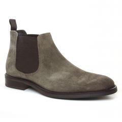 Chaussures homme hiver 2019 - boots Yann Bolligen gris beige