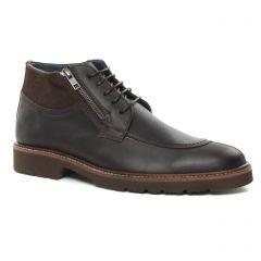 boots marron: même style de chaussures en ligne pour hommes que les Yann Bolligen