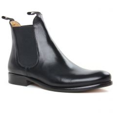 boots noir: même style de chaussures en ligne pour hommes que les Brett And Sons