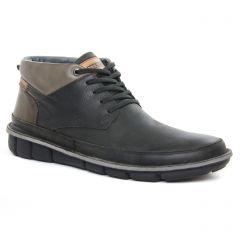 boots noir: même style de chaussures en ligne pour hommes que les Pikolinos