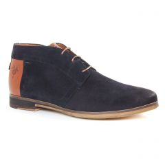 Chaussures homme hiver 2019 - bottines Chukka Kost bleu marine