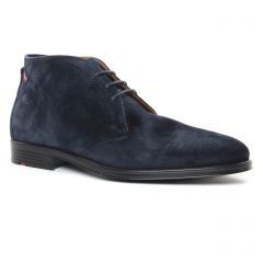Chaussures homme hiver 2019 - bottines Chukka LLoyd bleu marine