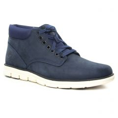 Chaussures homme hiver 2019 - bottines Chukka Timberland bleu marine
