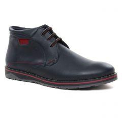 bottines-chukka marine: même style de chaussures en ligne pour hommes que les Fluchos
