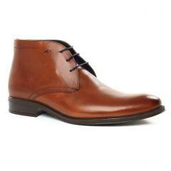 Chaussures homme hiver 2019 - bottines Chukka Fluchos marron