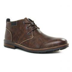 Chaussures homme hiver 2019 - bottines Chukka rieker marron foncé