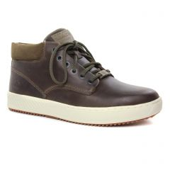 Chaussures homme hiver 2019 - bottines Chukka Timberland marron foncé
