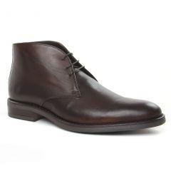 bottines-chukka marron lisse: même style de chaussures en ligne pour hommes que les Yann Bolligen