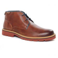 bottines-chukka marron: même style de chaussures en ligne pour hommes que les Pikolinos