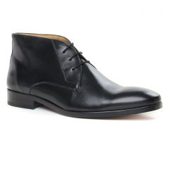 Chaussures homme hiver 2019 - bottines Chukka Brett and Sons noir