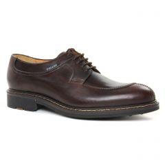 chaussures-basses-a-lacets marron foncé: même style de chaussures en ligne pour hommes que les Pikolinos