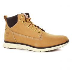 Chaussures homme hiver 2019 - chaussures montantes Timberland beige jaune