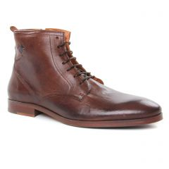 Chaussures homme hiver 2019 - chaussures montantes Kost marron