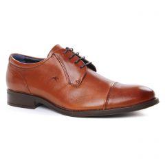 Chaussures homme hiver 2019 - derbys Fluchos marron cognac
