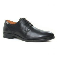 derbys noir: même style de chaussures en ligne pour hommes que les Rieker