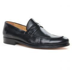 Chaussures homme hiver 2019 - mocassins Brett and Sons noir