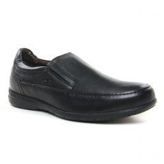 Chaussures homme hiver 2019 - mocassins Fluchos noir