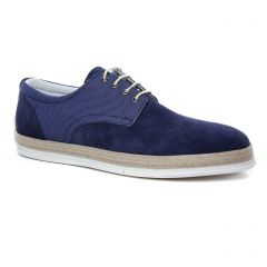 Chaussures homme hiver 2019 - derbys Twopens bleu marine