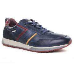 Chaussures homme hiver 2019 - tennis Pikolinos bleu