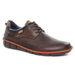 tennis marron foncé: même style de chaussures en ligne pour hommes que les Pikolinos