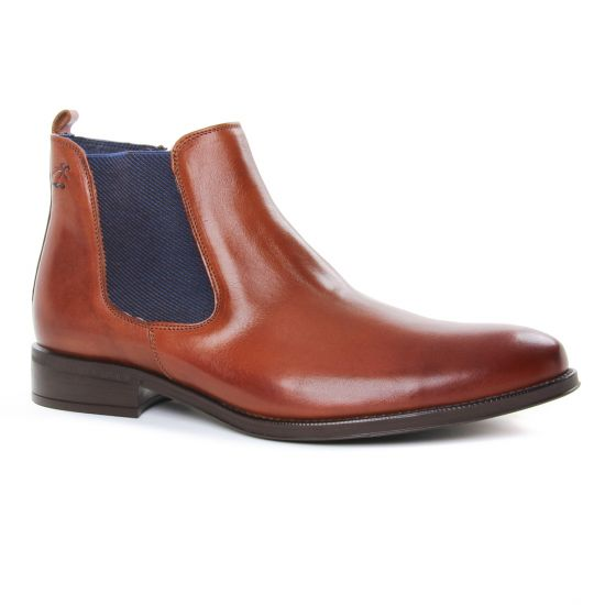 Chaussures Montantes Fluchos 8756 Cuero, vue principale de la chaussure homme