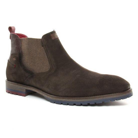 Chaussures Montantes Fluchos F0278 Cafe, vue principale de la chaussure homme