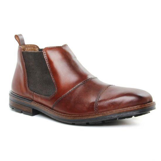 Chaussures Montantes Rieker F1380-26 Nut, vue principale de la chaussure homme