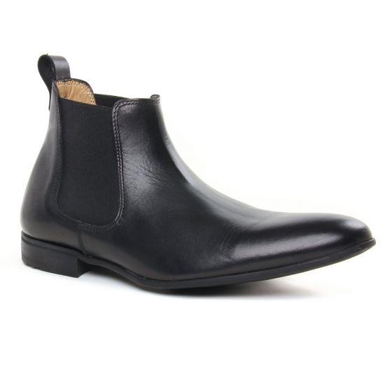 Chaussures Montantes Christian Pellet Lubin Noir, vue principale de la chaussure homme