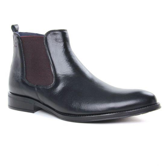 Chaussures Montantes Fluchos 8756 Negro, vue principale de la chaussure homme