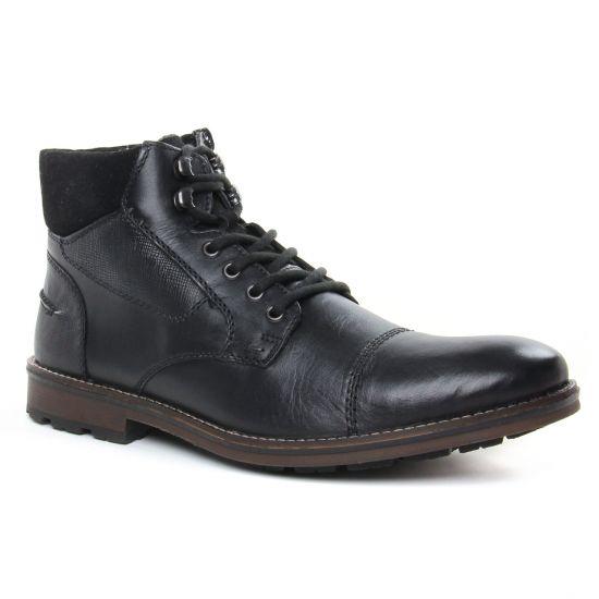 Chaussures Montantes Rieker F5514-01 Nero, vue principale de la chaussure homme