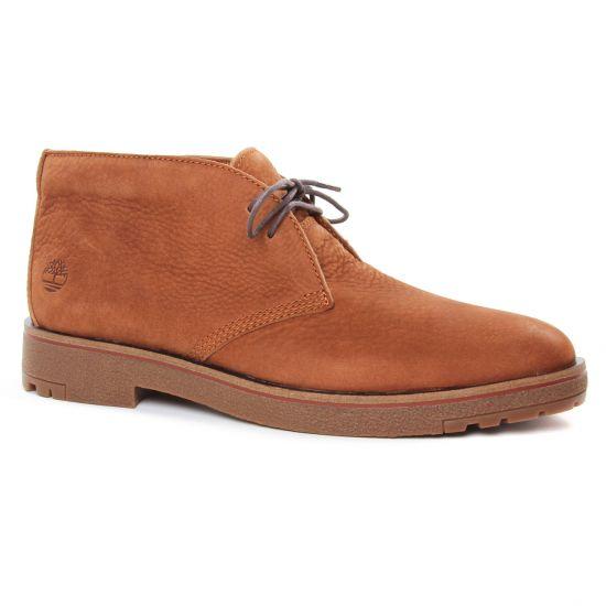 Chaussures Montantes Timberland Folk Gentleman Chukka Rust, vue principale de la chaussure homme
