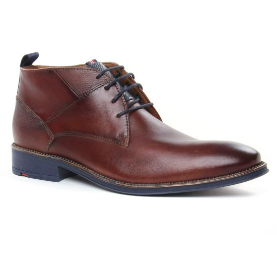 Chaussures Montantes Lloyd Grant Chocolat, vue principale de la chaussure homme