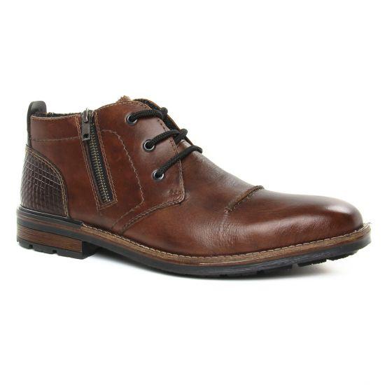 Chaussures Montantes Rieker B1344-26 Mocca, vue principale de la chaussure homme