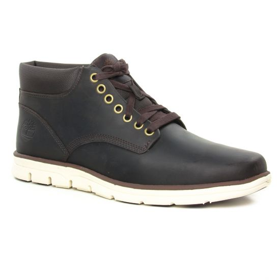 Chaussures Montantes Timberland Bradstreet Chukka Brown, vue principale de la chaussure homme